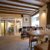 Dining Room at The Anchor Inn Restaurant - Devon